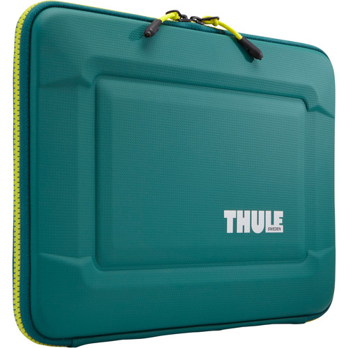 "Thule Gauntlet 3.0 15"" MacBook Pro Sleeve (Storm Green/Leichen Yellow)"