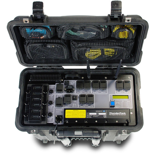 Motion FX Systems ThunderPack Custom Portable DIT Base Station