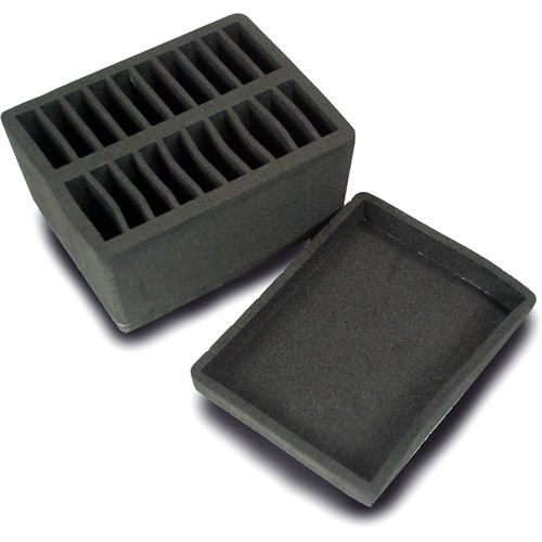 Motion FX Systems Anti-Static Foam Case Insert Set for 20 ThunderPack Hard Drives