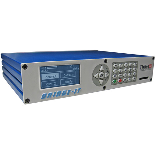 Tieline Bridge-IT Pro IP Distribution Audio Codec with AAC (Up to 6 Locations)