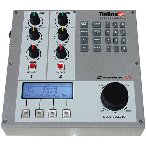 Tieline Commander G3 Field IP Enabled Audio Codec