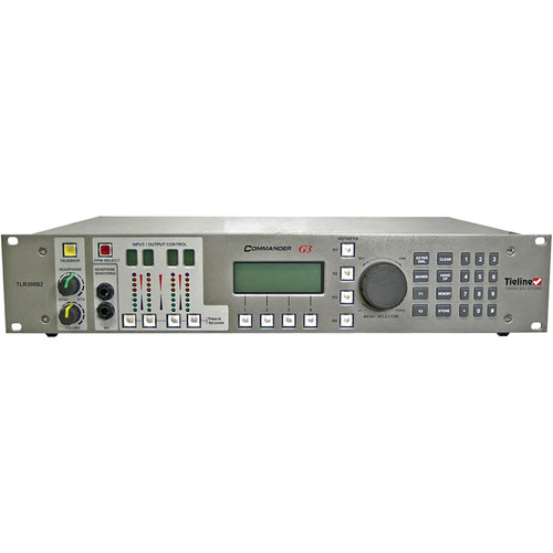 Tieline Commander G3 Rack Mount Remote Audio Codec with IP & Mono