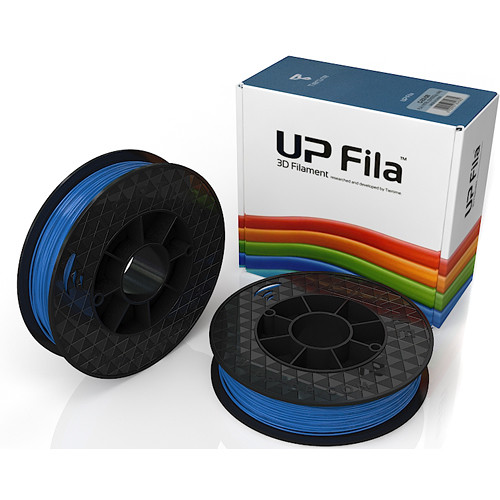 Tiertime UP Fila PLA Filaments (Blue, 2 x 500g Rolls)