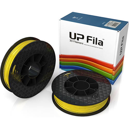 Tiertime UP Fila ABS+ Filaments (Yellow, 2 x 500g)