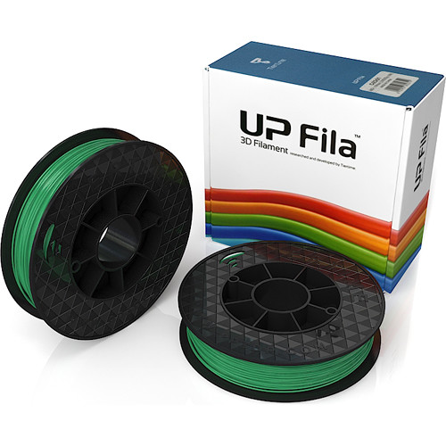Tiertime UP Fila ABS+ Filaments (Green, 2 x 500g)