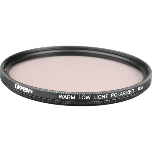 Tiffen 105mm Coarse Thread Warm Low Light Linear Polarizer Filter