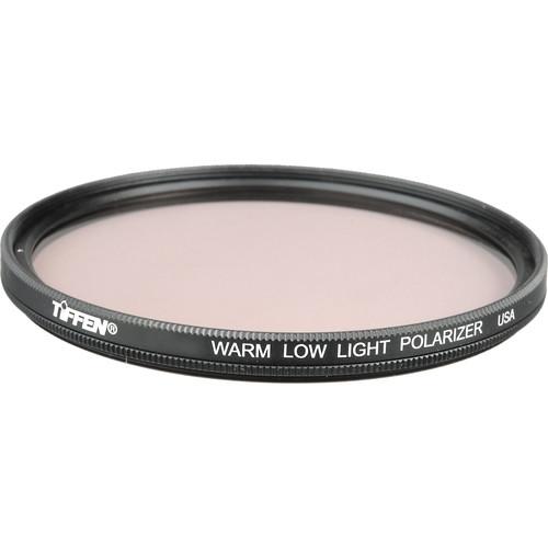Tiffen 105mm Coarse Thread Warm Low Light Linear Polarizer Filter