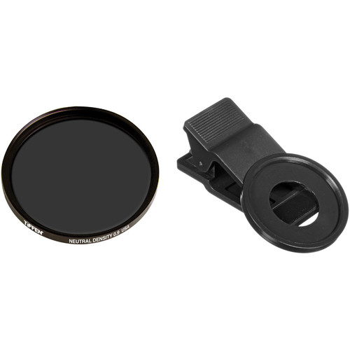 Tiffen 37mm Neutral Density 0.9 Filter Smartphone Kit