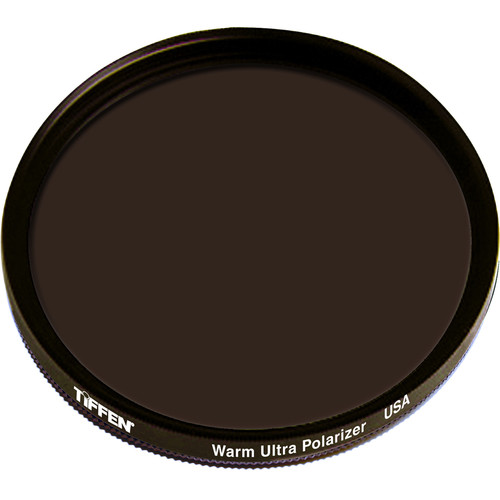 "Tiffen 4.5"" Round Warm Ultra Circular Polarizer Filter"