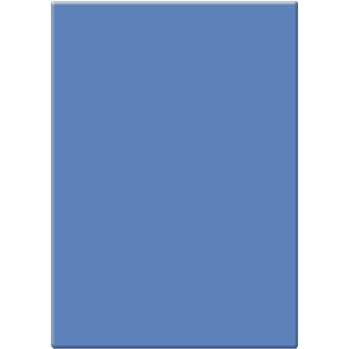 """Tiffen 4 x 5.65"""" CC40B Blue Filter"""