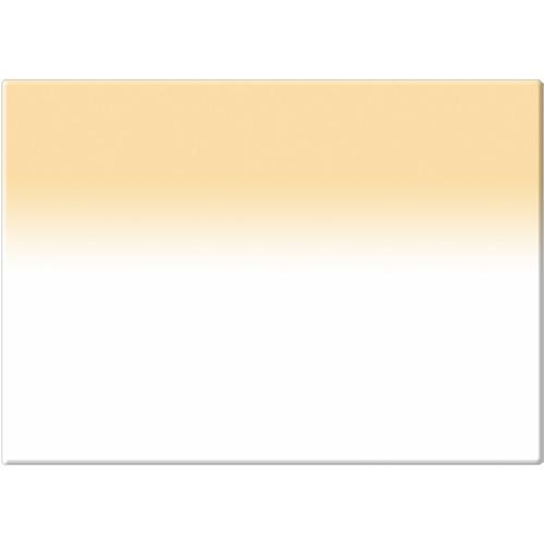 "Tiffen 4 x 5.65"" 2 Coral Soft-Edge Graduated Filter (Horizontal Orientation)"