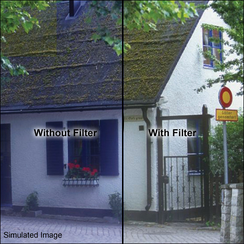 "Tiffen 5.65 x 5.65"" 85B Color Conversion Filter"