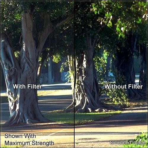 "Tiffen 5.65 x 5.65"" Soft Contrast 4 Glass Filter"