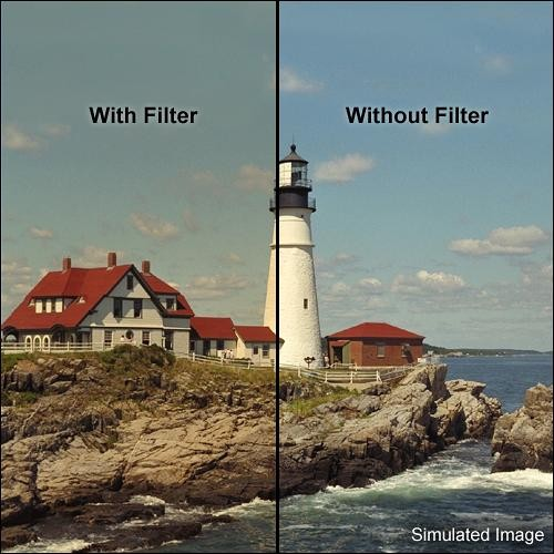 "Tiffen 5.65 x 5.65"" 3 Coral Solid Color Filter"