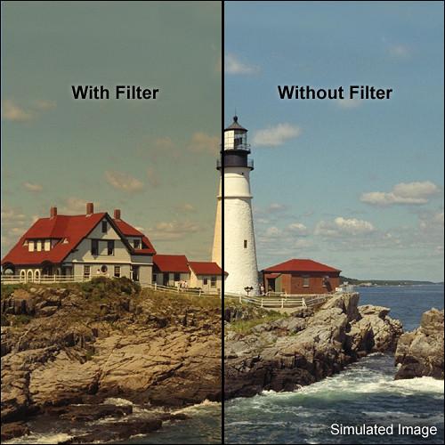 "Tiffen 5.65 x 5.65"" 5 Coral Solid Color Filter"