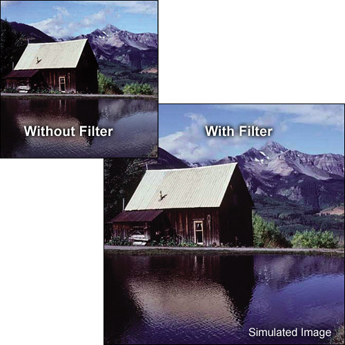 "Tiffen 5.65 x 5.65"" Complement Blue 1 Filter"