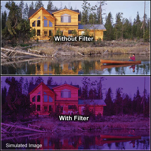 "Tiffen 5.65 x 5.65"" 3 Grape Solid Color Filter"