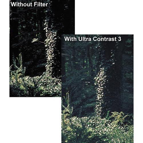 "Tiffen 5.65 x 5.65"" Ultra Contrast 1/2 Filter"