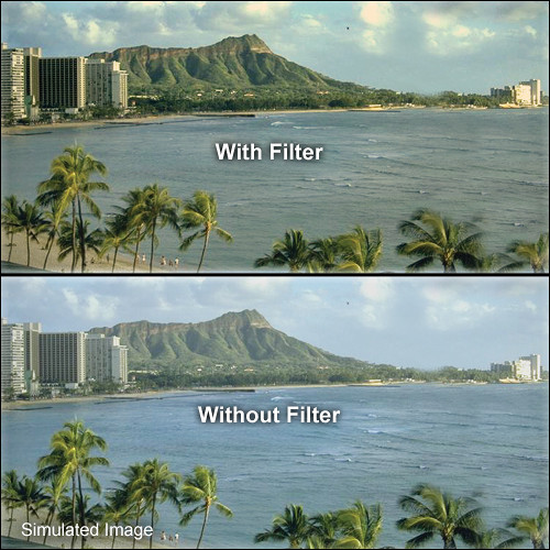 "Tiffen 5.65 x 5.65"" Warm UV 17 Filter"