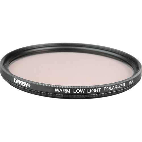 Tiffen 95mm Coarse Thread Warm Low Light Linear Polarizer Filter