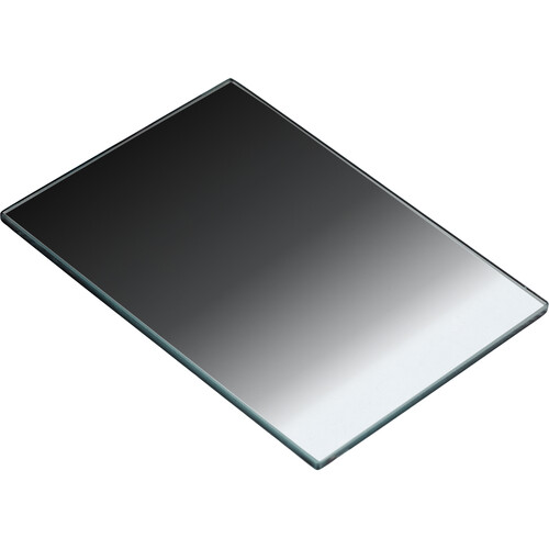 "Tiffen 4 x 5.65"" Attenuator Color Graduated Neutral Density 0.6 Filter (Vertical,2-Stop)"