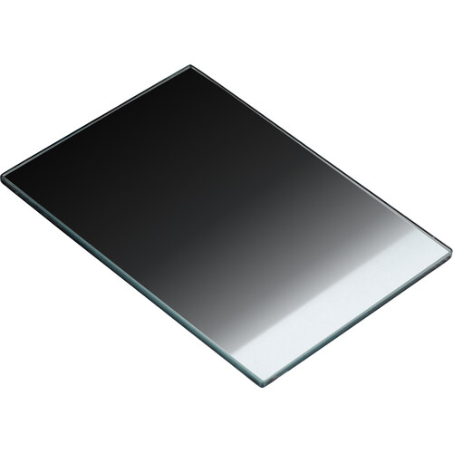 "Tiffen 4 x 5.65"" Attenuator Color Graduated Neutral Density 0.9 Filter (Vertical,3-Stop)"