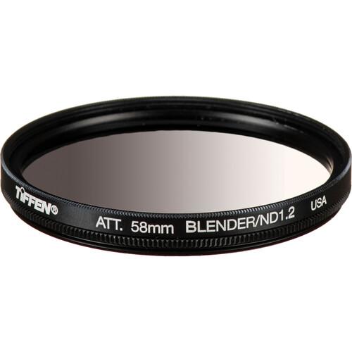 Tiffen 58mm Graduated Neutral Density Attenuator/Blender 1.2 Filter (4-Stop)