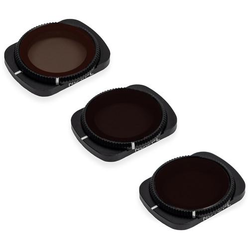 Tiffen 3-Filter Neutral Density/Polarizer Kit for DJI Pocket 2/Osmo Pocket