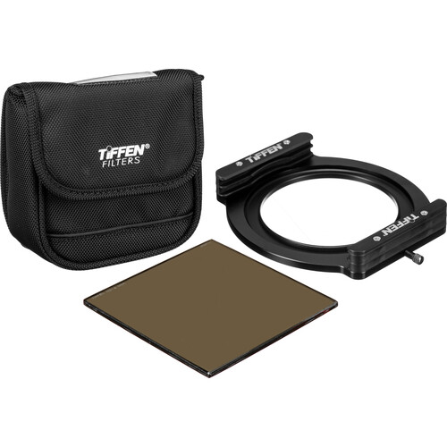 """Tiffen Pro100 ND Prime Filter Kit with 4x4"""" Solid Neutral Density 1.2 Filter"""