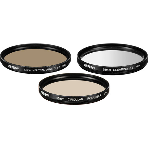 Tiffen 55mm Digital Light Control Filter Kit