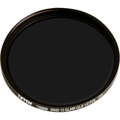Tiffen 138mm IRND 1.2 Glimmerglass 1/2 Polarizer Filter