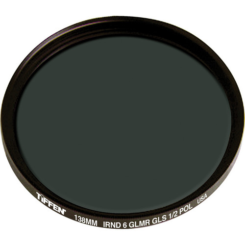 Tiffen 138mm IRND 0.6 Glimmerglass 1/2 Polarizer Filter