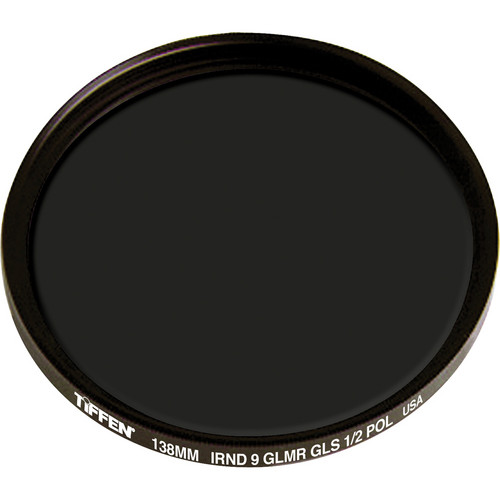 Tiffen 138mm IRND 0.9 Glimmerglass 1/2 Polarizer Filter