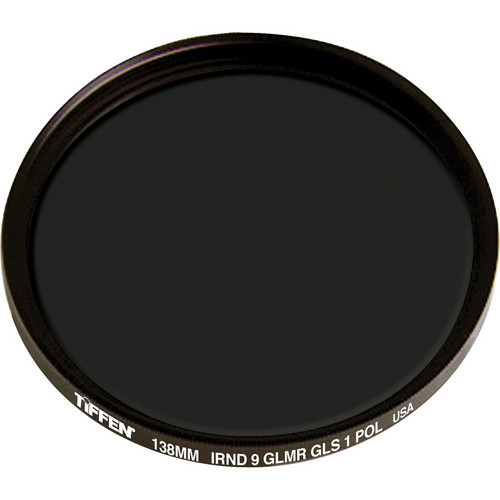 Tiffen 138mm IRND 0.9 Glimmerglass 1 Polarizer Filter