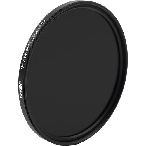 Tiffen 138mm Water White Glass Combination Polarizer/IRND 1.2 Filter (4-Stop)