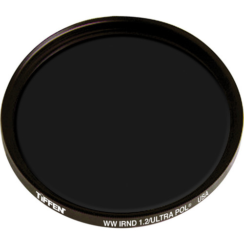Tiffen IRND 1.2 Ultra Linear Polarizing Water White Glass Filter (138mm)