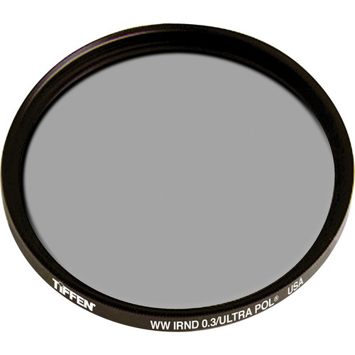 Tiffen IRND 0.3 Ultra Linear Polarizing Water White Glass Filter (138mm)