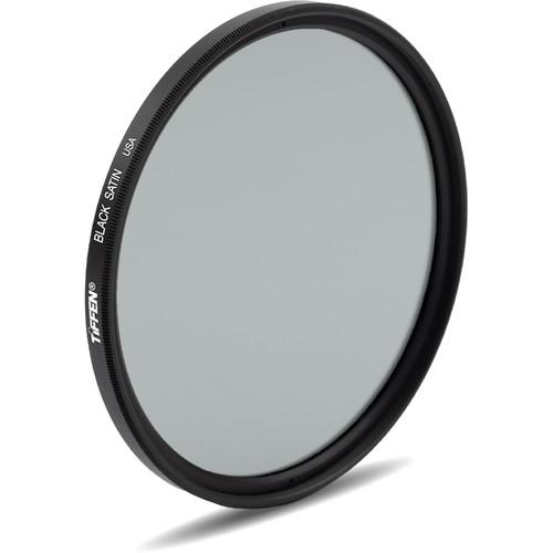 "Tiffen 4.5"" Black Satin Filter (1/2 Density, Water White Glass)"