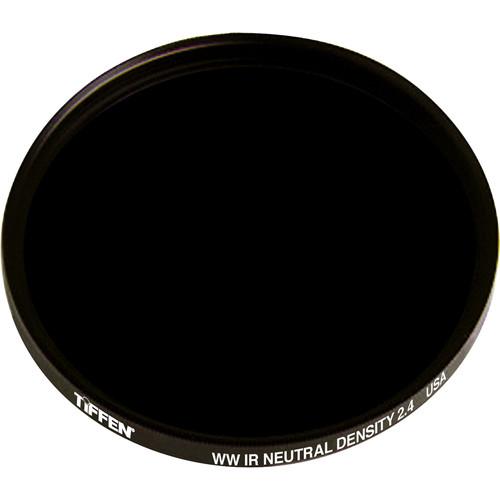 """Tiffen 4.5"""" Round Water White Glass IRND 2.4 Filter (8-Stop)"""