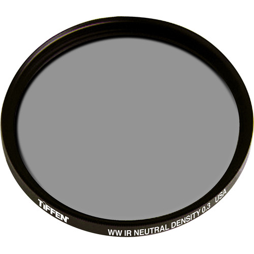 Tiffen 43mm Water White Glass IRND 0.3 Filter (1-Stop)