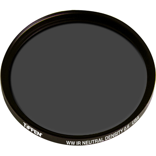 Tiffen 43mm Water White Glass IRND 0.6 Filter (2-Stop)