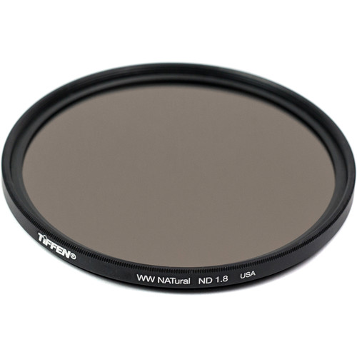 Tiffen 58mm Water White Glass NATural IRND 1.8 Filter (6-Stop)