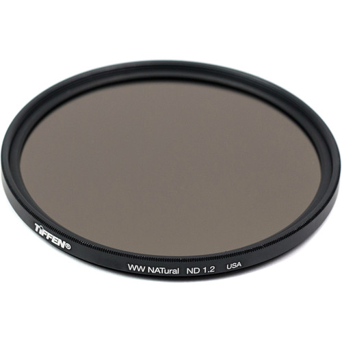 Tiffen 62mm Water White Glass NATural IRND 1.2 Filter (4-Stop)