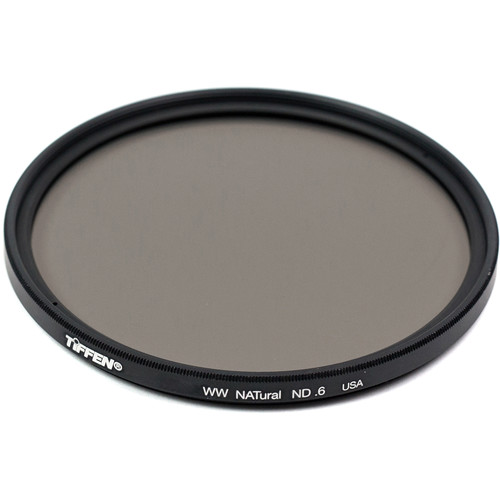 Tiffen 62mm Water White Glass NATural IRND 0.6 Filter (2-Stop)
