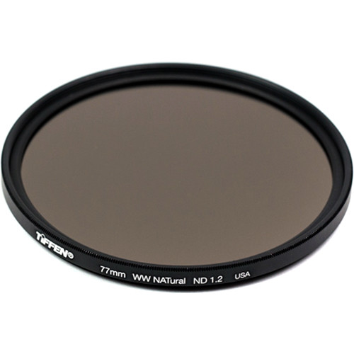 Tiffen 72mm Water White Glass NATural IRND 1.2 Filter (4-Stop)