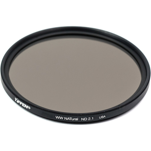 Tiffen 72mm Water White Glass NATural IRND 2.1 Filter (7-Stop)