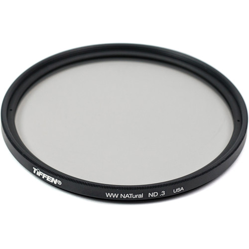Tiffen 72mm Water White Glass NATural IRND 0.3 Filter (1-Stop)
