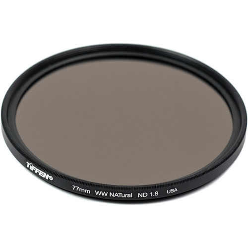 Tiffen 77mm Water White Glass NATural IRND 1.8 Filter (6-Stop)