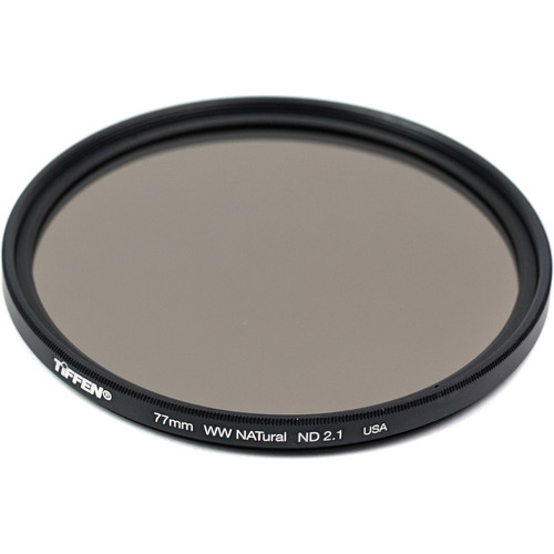 Tiffen 77mm Water White Glass NATural IRND 2.1 Filter (7-Stop)