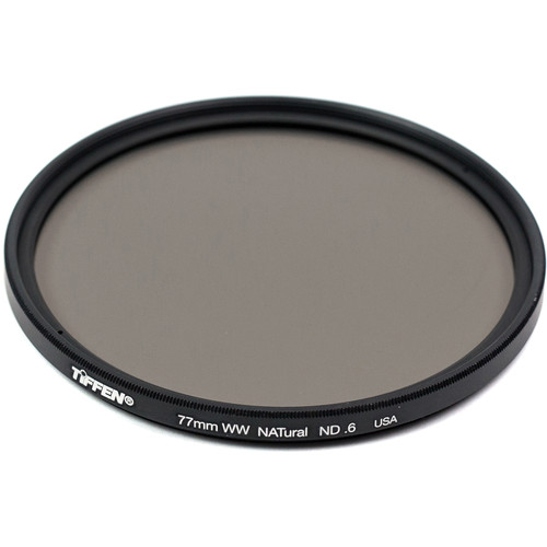 Tiffen 77mm Water White Glass NATural IRND 0.6 Filter (2-Stop)
